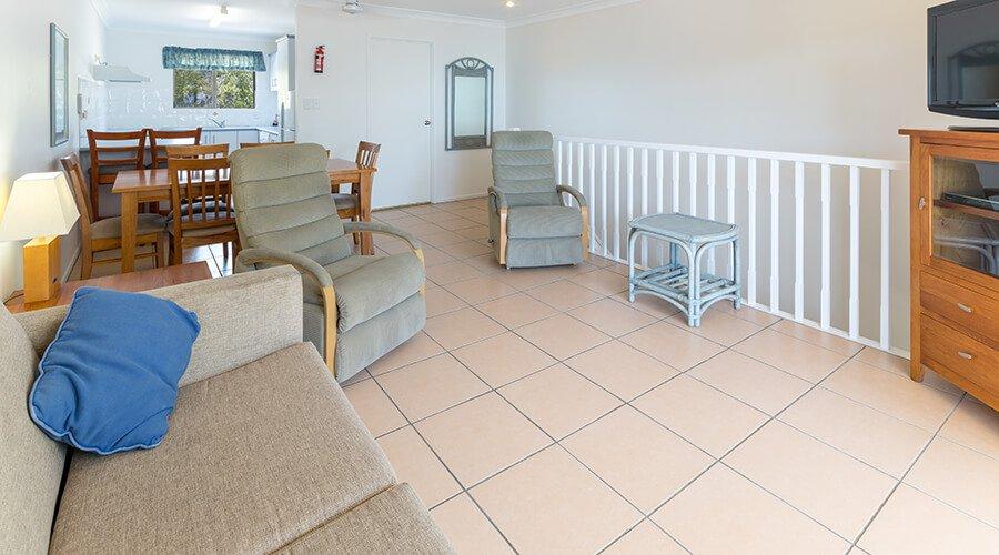 2 Bedroom Garden Terrace