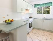 Kitchen-in-two-bedroom-unit-Beachfront-and-Garden-terrace-2